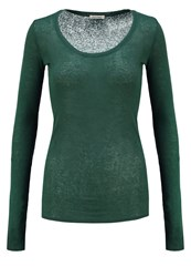 American Vintage Massachusetts Long Sleeved Top Aneth Chine Dill Melange Green