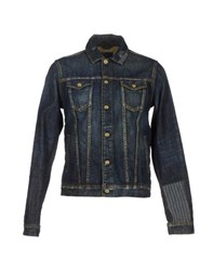 Scotch And Soda Denim Denim Outerwear Men Blue
