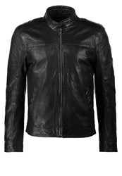 Gipsy Leather Jacket Schwarz Black