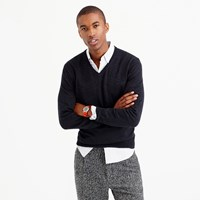 J.Crew Tall Rugged Cotton V Neck Sweater