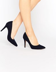 Ravel Navy Court Shoes Navy