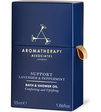 Aromatherapy Associates Support Lavender And Peppermint Bath And Shower Oil 55Ml