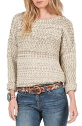 Volcom Women's Rested Heart Sweater Military