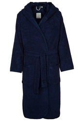 Tom Tailor Feel Good Dressing Gown Navy Dark Blue