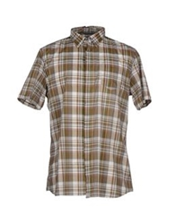Guess By Marciano Shirts Military Green