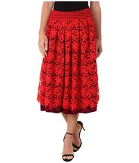 Kas Asilah Skirt Red Black Women's Skirt
