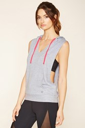 Forever 21 Active Heathered Hoodie