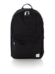 Converse Two Pocket Canvas Backpack Black