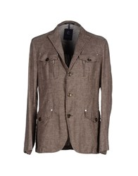 Calvaresi Suits And Jackets Blazers Men Khaki