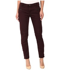 Blank Nyc Utility Skinny In Wine O Clock Wine Women's Casual Pants Burgundy