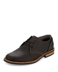 Penguin Waylon Lace Up Leather Oxford Black