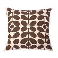 Orla Kiely Sixty Stem Cushion Olive