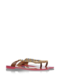 Dolce And Gabbana Sandals Brown