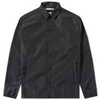 Norse Projects Svend Poplin Coach Jacket Black