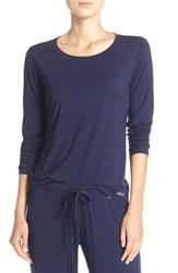 Naked Women's Long Sleeve Stretch Modal Top Peacoat