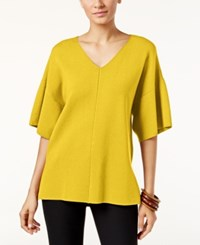 Alfani Milano V Neck Sweater Only At Macy's Luxe Lime