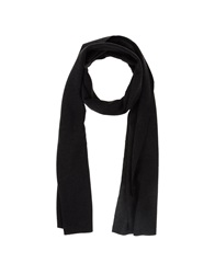 U Ni Ty Oblong Scarves Black