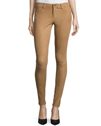 Ag Adriano Goldschmied The Suede Full Length Legging Camel