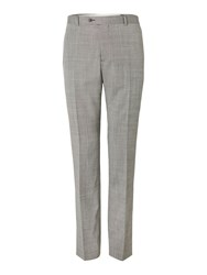 Corsivo Nazzaro Textured Suit Trousers Grey