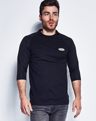 10.Deep Breezy 3 4 Mesh Sleeve T Shirt