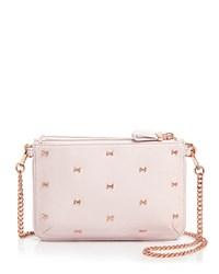Ted Baker Bow Convertible Crossbody Dusky Pink
