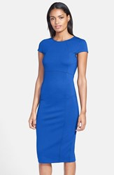 Petite Women's Felicity And Coco Seamed Pencil Dress Cobalt
