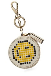Anya Hindmarch Leather Pixel Smiley Coin Purse Multicolor