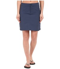 Mountain Hardwear Yuma Skirt Zinc Women's Skirt Blue