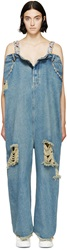 Ashish Blue Oversized Jean Jumpsuit