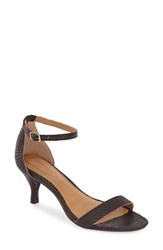 Women's Corso Como 'Caitlyn' Sandal Dark Brown Solid Snake
