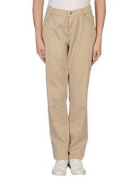 Marina Yachting Trousers Casual Trousers Women Beige