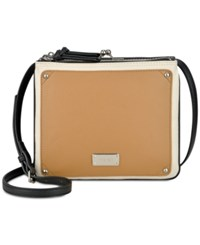 Nine West Jaya Crossbody Black Milk Camel