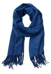Betty Barclay Long Woven Scarf Blue
