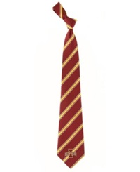 Eagles Wings Iowa State Cyclones Striped Tie Team Color