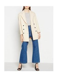 Joseph Jean Double Breasted Jacket Off White