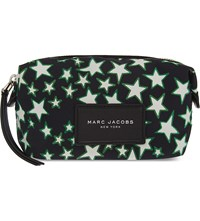 Marc Jacobs Flock Star Pouch Black Multi