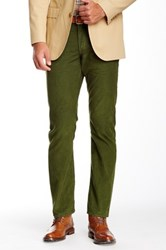 Bonobos French Corders Straight Pant 30 36' Inseam Green