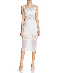 French Connection Lucky Layer Dress Summer White