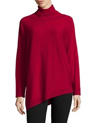 Eileen Fisher Petite Solid Turtleneck Pullover Chrid
