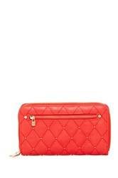 Urban Expressions Parket Stud Quilted Wallet Red