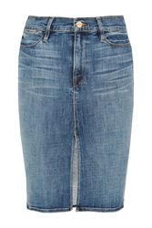 Frame Denim Le Pencil Denim Skirt