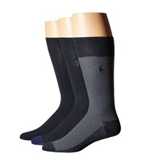 Polo Ralph Lauren Supersoft Birdseye Navy Men's Crew Cut Socks Shoes