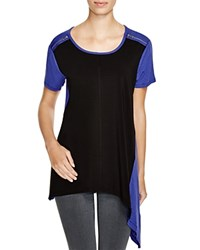 Love Scarlett Color Block Tee Black