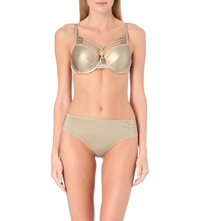 Marlies Dekkers The Victory Padded Push Up Bra Golden Victory