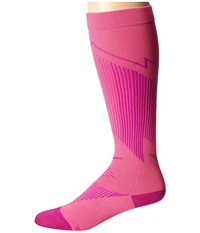 Nike Elite Running Graduated Pink Pow Fuchsia Flash Fuchsia Flash Knee High Socks Shoes