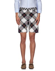 Just Cavalli Trousers Bermuda Shorts Men White