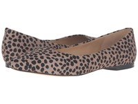 Trotters Estee Grey Cheetah Women's Slip On Dress Shoes Clear