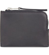 Rick Owens Small Leather Zip Around Purse Black