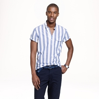 J.Crew Short Sleeve Popover In Indian Cotton