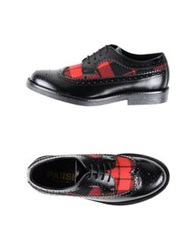 Pause Lace Up Shoes Red